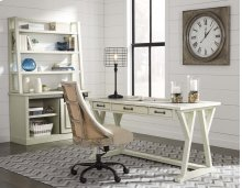 Jonileene - White/Gray 2 Piece Home Office Set