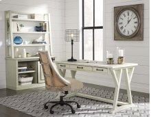 Jonileene - White/Gray 2 Piece Home Office Set