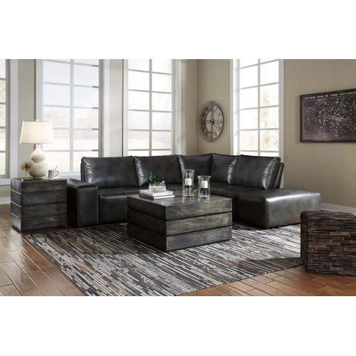 Cliffoney - Gray 6 Piece Sectional