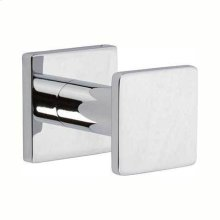 Polished Chrome Single Robe Hook