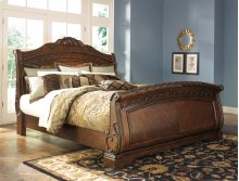 North Shore - Dark Brown 3 Piece Bed Set (King)