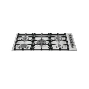 Bertazzoni36 Drop-In Low Profile 5 Burners Stainless Steel