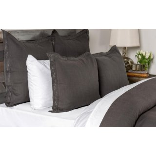 Harper Charcoal Queen Duvet 92x90
