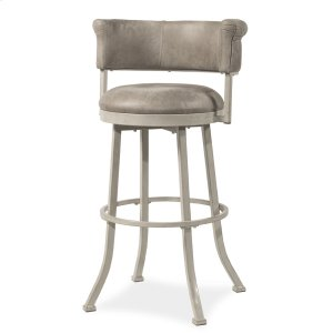Hillsdale FurnitureWestport Swivel Counter Stool - Dark Brush Ivory