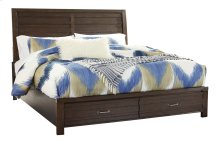 Darbry - Brown 3 Piece Bed Set (Cal King)