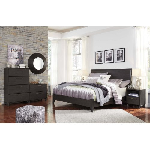 Daltori - Black 2 Piece Bed Set (King)