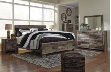 Derekson - Multi Gray Bedroom Set