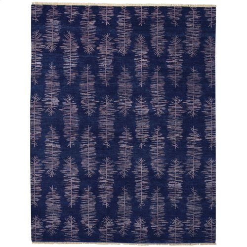 Aspen Midnight Blue Hand Knotted Rugs