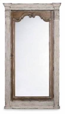Accents Chatelet Floor Mirror w/Jewelry Armoire Storage