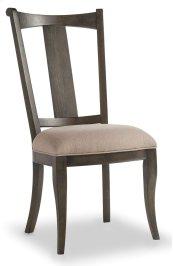 Dining Room Vintage West Upholstered Splatback Side Chair
