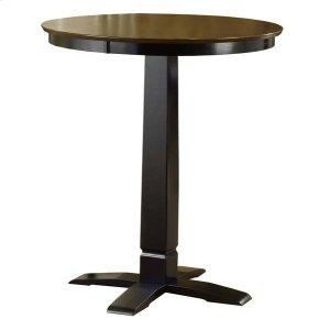 Hillsdale FurnitureDynamic Designs Pub Table Brown Cherry/black