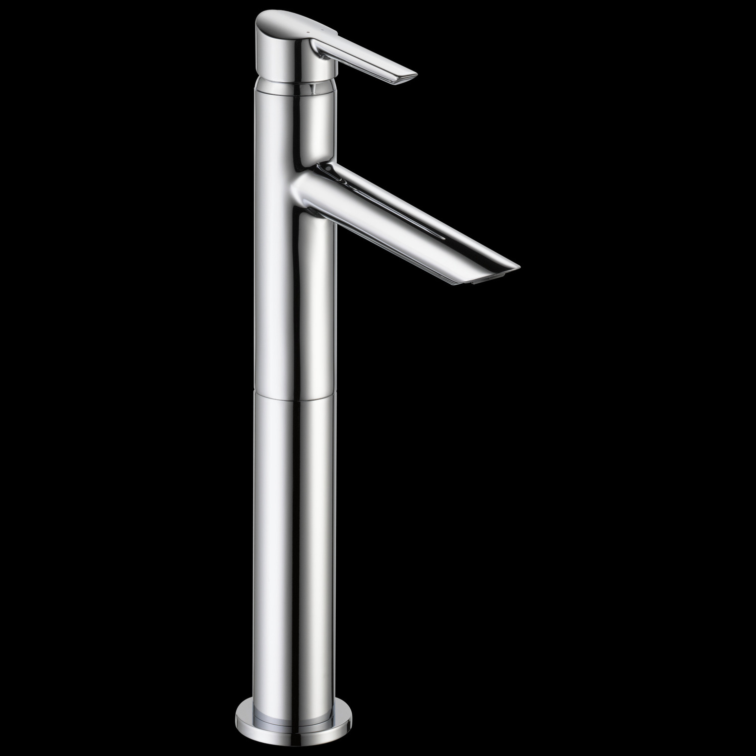 Chrome Single Handle Vessel Bathroom Faucet