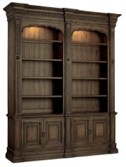 Home Office Rhapsody Double Bookcase (w/out ladder & rail) Product Image