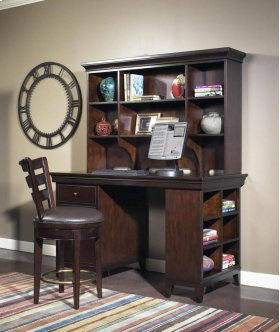 Artisan Dark Office Open Hutch 59""