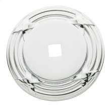 Polished Chrome Round Edinburgh Back Plate