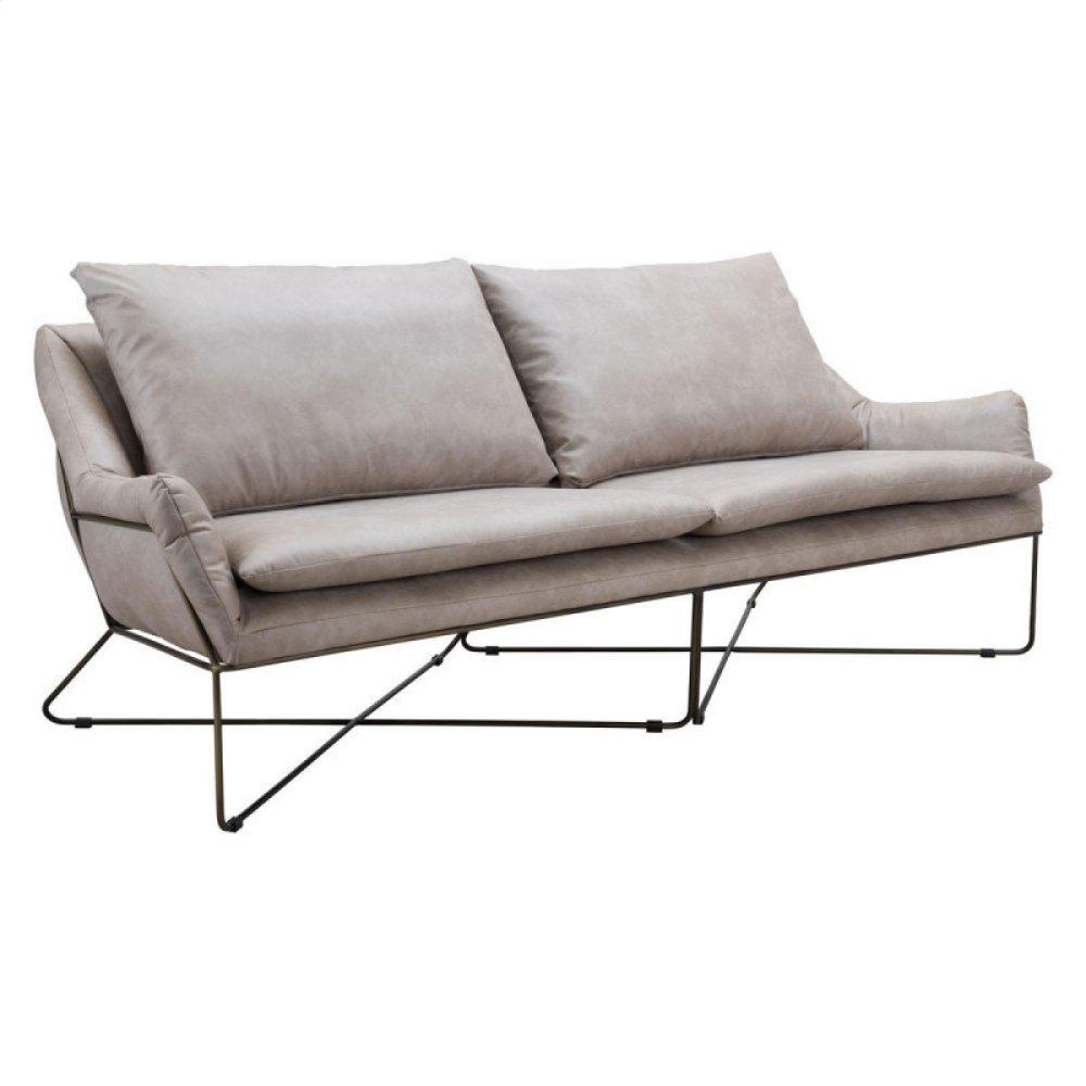 Finn Sofa Distressed Gray