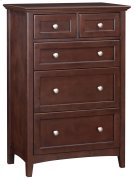 CAF 5-Drawer McKenzie Tall Chest Product Image