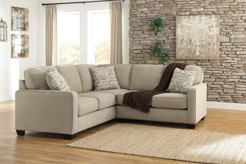 2-Piece Sectional with RAF Loveseat
