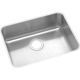 "Elkay Lustertone Classic Stainless Steel 23-1/2"" x 18-1/4"" x 4-3/8"", Single Bowl Undermount ADA Sink"