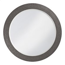 Lancelot Mirror - Glossy Charcoal