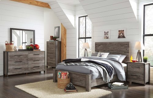 Cazenfeld - Black/Gray 3 Piece Bed Set (Full)