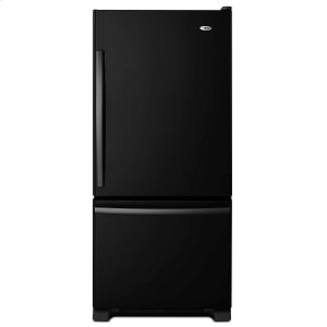 29-inch Wide Bottom-Freezer Refrigerator with EasyFreezer Pull-Out Drawer -- 18 cu. ft. Capacity Black -