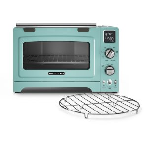 "KitchenAid12"" Convection Digital Countertop Oven Aqua Sky"