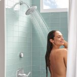 American StandardSpectra+ Touch 4-Function Shower Head  American Standard - Legacy Bronze