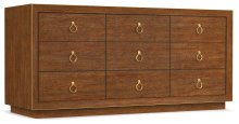 Bedroom Roman Nine-Drawer Dresser