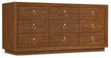 Bedroom Roman Nine-Drawer Dresser