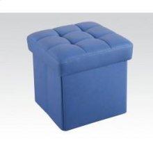 Blue Ottoman W/storage