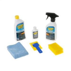 GECerama Bryte Complete Cooktop Cleaning Kit