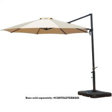 Tan Cantilever Umbrella
