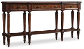 Living Room Grandover Three Drawer Console Table