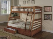 Boise Oak Two Storage Drawers Product Image
