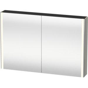 Mirror Cabinet, Taupe Satin Matt Lacquer
