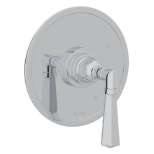Polished Chrome San Giovanni Pressure Balance Trim Without Diverter with Metal Lever
