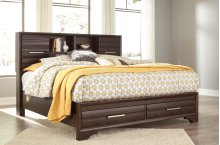 Andriel - Dark Brown 2 Piece Bed Set (Cal King)