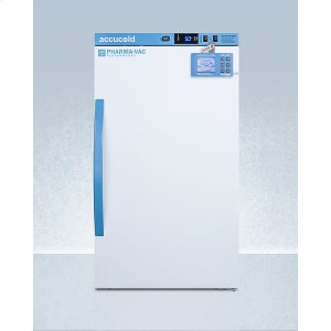 SummitPerformance Series Pharma-vac 3 CU.FT. Counter Height All-refrigerator for Vaccine Storage With Factory-installed Data Logger