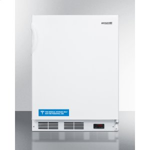 SummitADA Compliant Built-in Medical All-freezer Capable of -25 C Operation