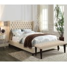 FAYE Q LINEN BED @N Product Image