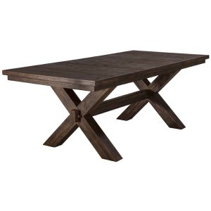 Hillsdale FurniturePark Avenue Extension Trestle Dining Table
