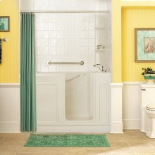 Acrylic Luxury Series 32x60 Whirlpool System Walk-in Tub, Right Drain  American Standard - Linen