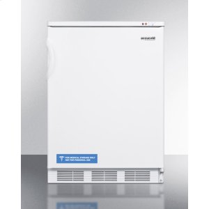 SummitCommercial Freestanding Medical All-freezer Capable of -25 C Operation, In White Exterior Finish