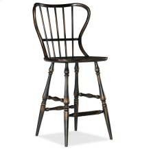 Dining Room Ciao Bella Spindle Back Bar Stool-Black