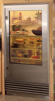 Overlay 601RG Glass Door