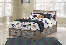 McKeeth - Gray 5 Piece Bed Set (Full)