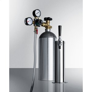 Tapping Equipment With Nitrogen Tank To Serve Cold Brew