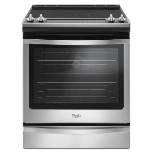 6.4 Cu. Ft. Slide-In Electric Range with True Convection - STAINLESS STEEL