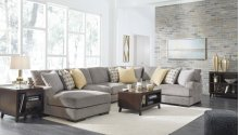 Fallsworth - Smoke 3 Piece Sectional